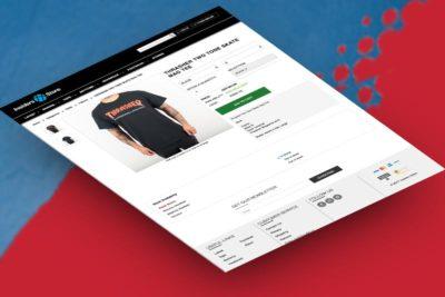 Website ecommerce design development