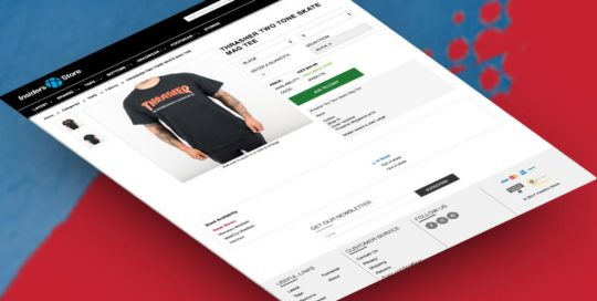 Website ecommerce design development